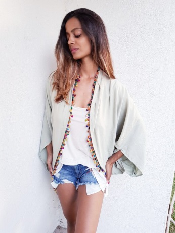 Mint kimono/cover up - SOLD OUT