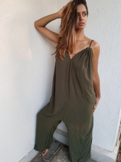 Olive jumpsuit - SOLD OUT