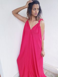 Tandoori maxi dress