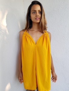 Tumeric Slip dress
