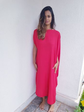 Tandoori asymmetric dress